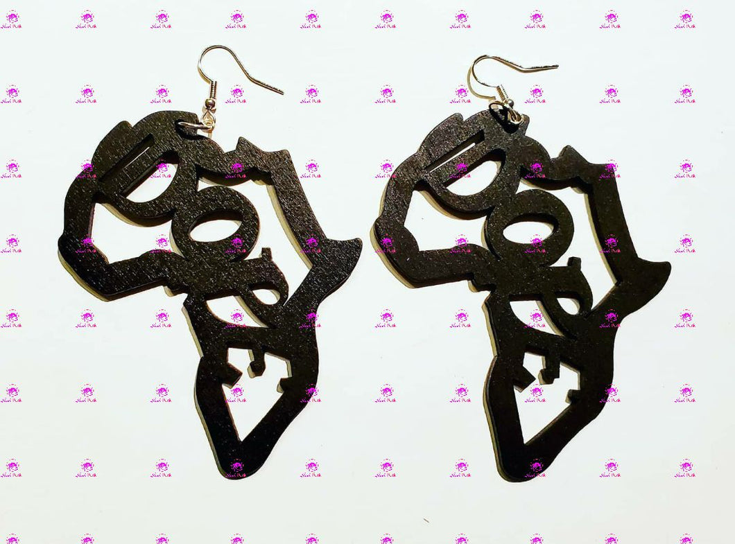 DOPE Africa Earrings