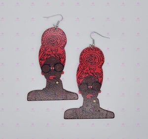 HEADWRAP SOUL SISTAH Earrings