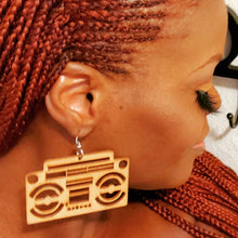 Load image into Gallery viewer, Boombox Earrings