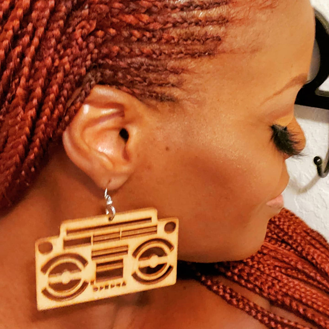 Boombox Earrings