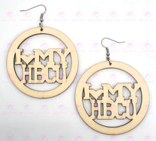 Load image into Gallery viewer, I LOVE MY HBCU Earrings