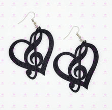 Load image into Gallery viewer, Music Love Earrings