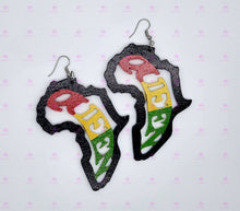Load image into Gallery viewer, QUEEN Africa Earrings