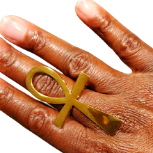 Load image into Gallery viewer, Ankh Ring