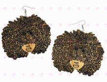 Load image into Gallery viewer, Big Bold Bush Earrings