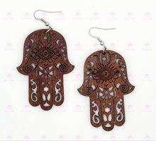 Load image into Gallery viewer, HAND OF FATIMA Earrings