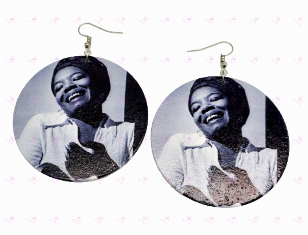 Maya Angelou Earrings