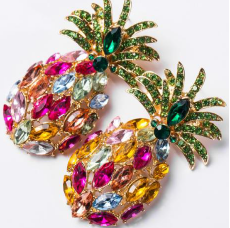BLING PINEAPPLE Earrings