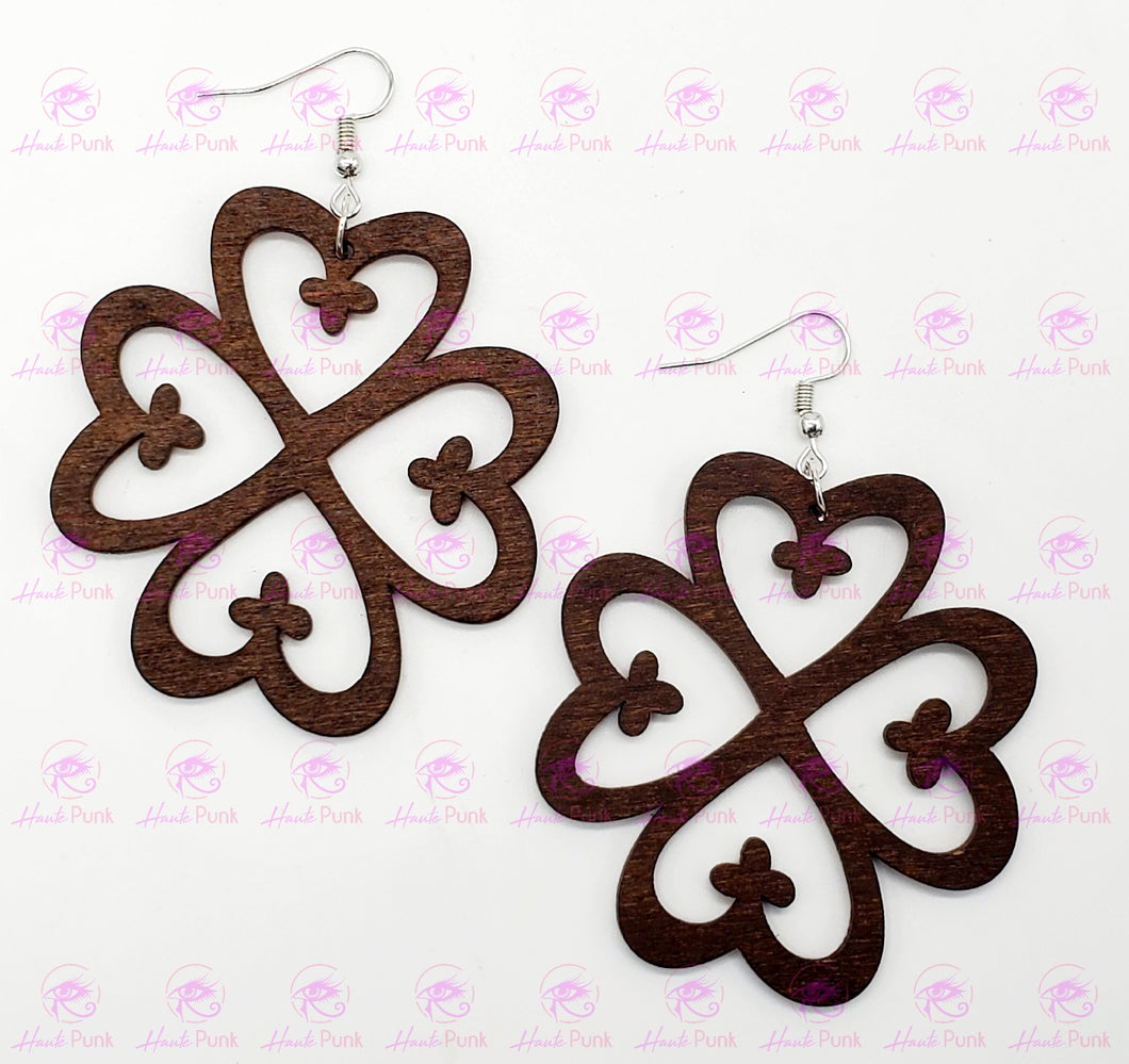 NYAME DUA - Adinkra Symbol Earrings