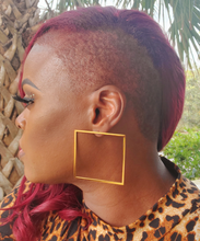 Load image into Gallery viewer, Square Root Earrings