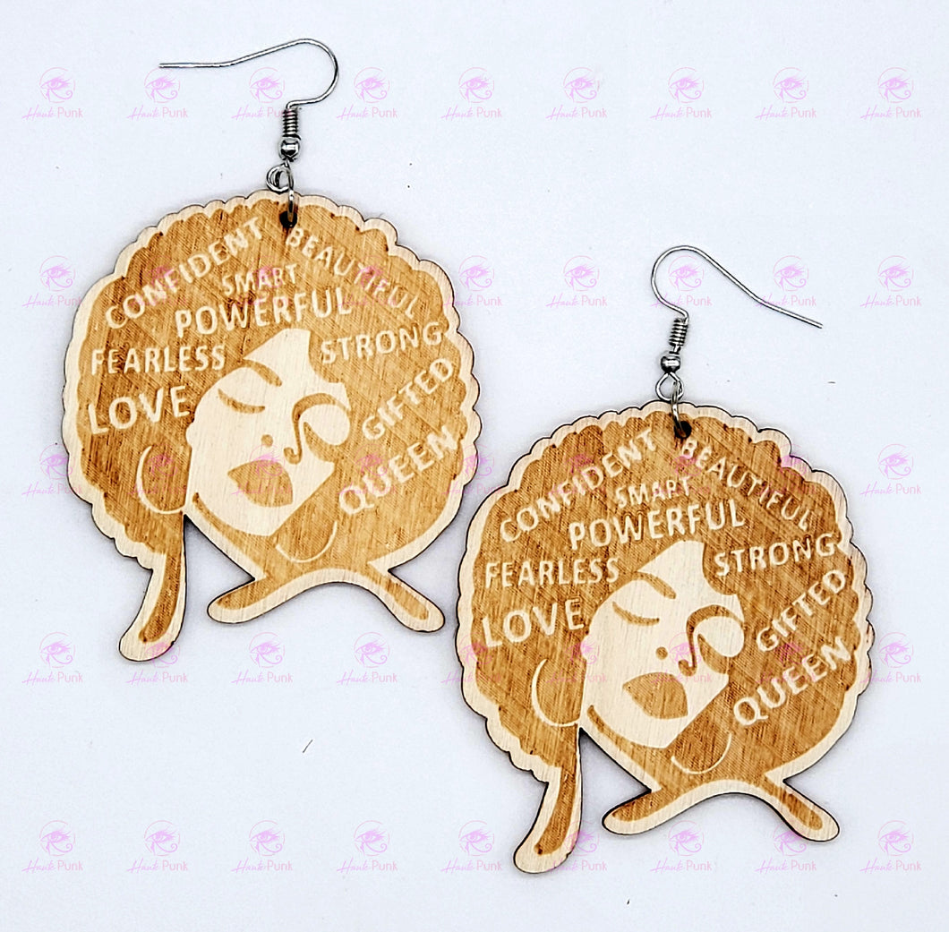 AFFIRMATIONS AFRO Earrings