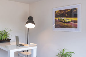 classic race car wall art uk