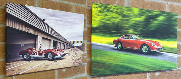 ferrari canvas wall art