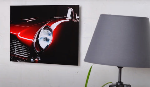 metal car wall art uk