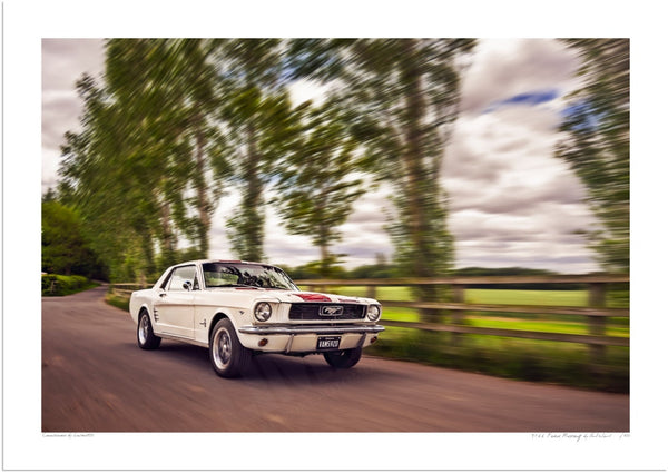 1966 Ford Mustang Coupe at Statfold Barn Railway
