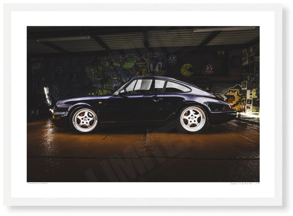 Porsche 964 at Retro Classica