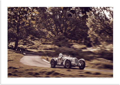 1936 Talbot-Darracq T150C at Loton Park Hill Climb