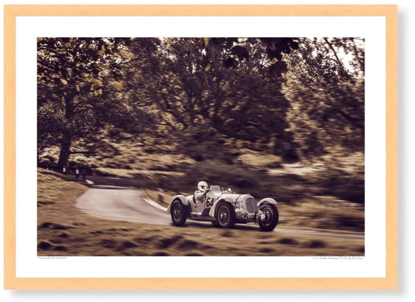 1936 Talbot-Darracq T150C at Prescott Hill Climb