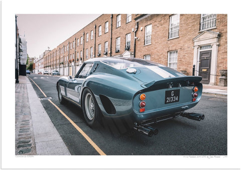 Ferrari 250 GTO 1962 in Knightsbridge (C-pillar)