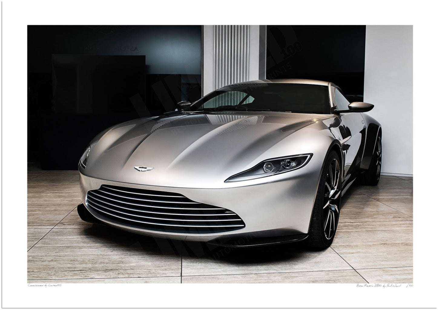 Aston Martin Db10 Limited Edition Print Limited100