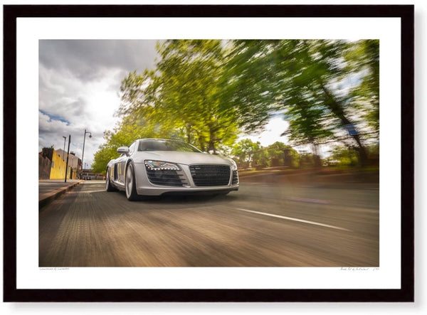 Audi R8 in the Jewellery Quarter