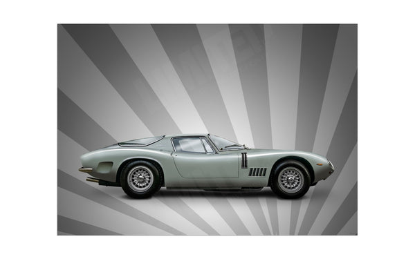 Bizzarrini 5300 GT Strada (silver stripes)