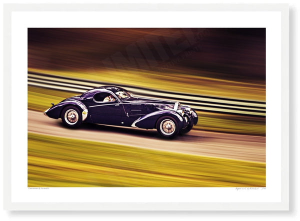 Bugatti 57C at Prescott Hill Climb