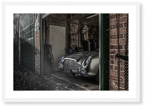 Aston Martin DB5 at Bicester Heritage