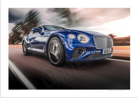 Bentley Continental GT in Bedfordshire