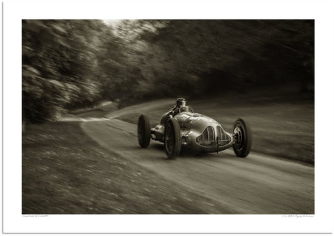 1938 ERA E-Type at Prescott Hill Climb
