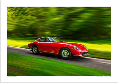 Ferrari 275 GTB at Prescott Hill Climb