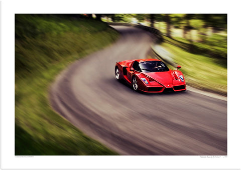Ferrari Enzo at Prescott Hill Climb