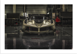 Ferrari FXX-K at Silverstone (Into Darkness)