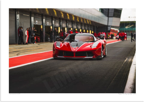 Ferrari FXX-K at Silverstone (Ready to Go)