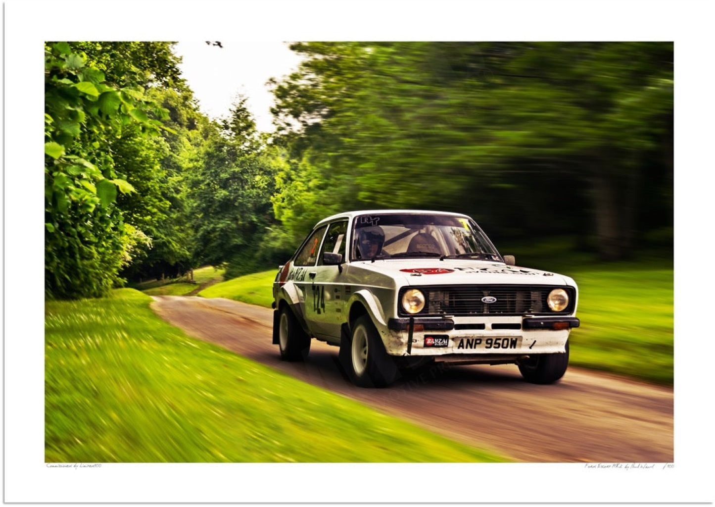 Ford Escort Mk2 1980 at Prescott Hill Climb
