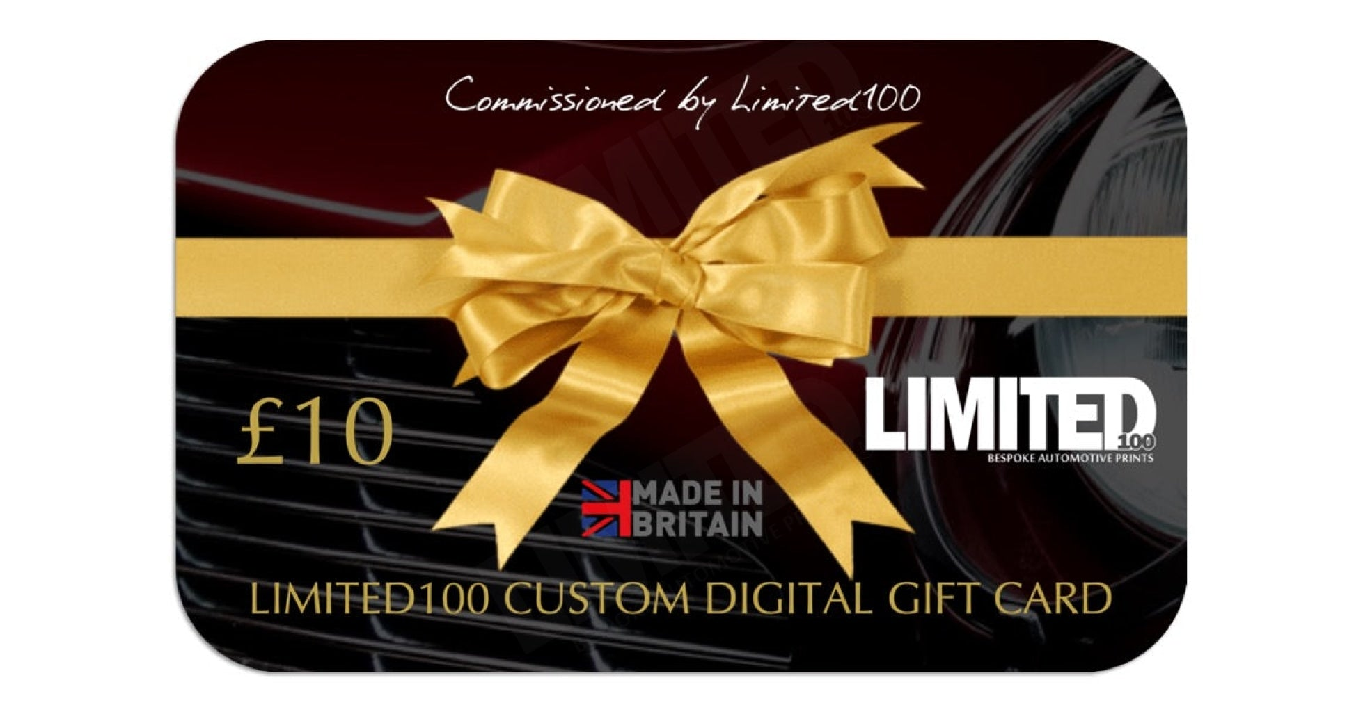 Limited100 Digital Gift Card