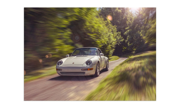 Porsche 911 (993) Carrera at Prescott Hill Climb