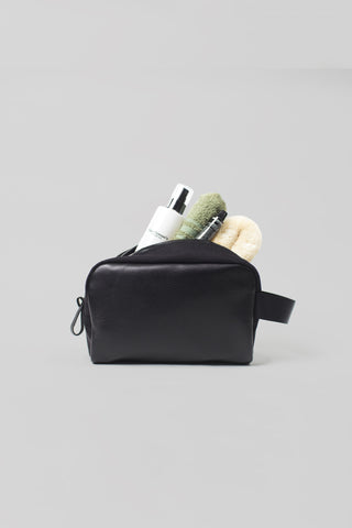 Dopp Kit | Black Leather / Cordura