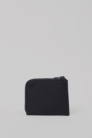 Square Zip Wallet | Black
