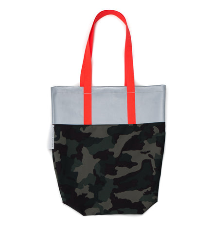 Feather Tote | Camo