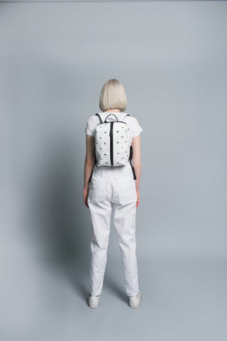 N.3 Mini Nishokku Backpack // White