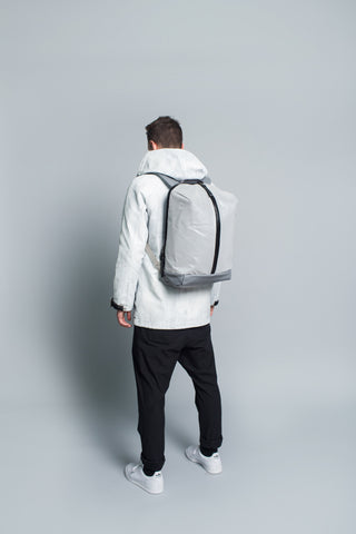 N.3 Backpack // Silver