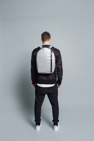 N.4 Backpack // Silver