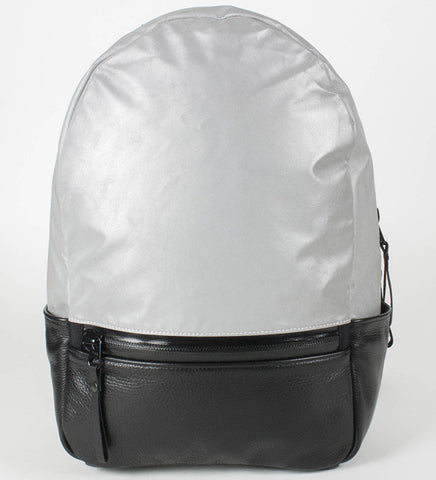 After Hours Backpack | Silver | Full Grain