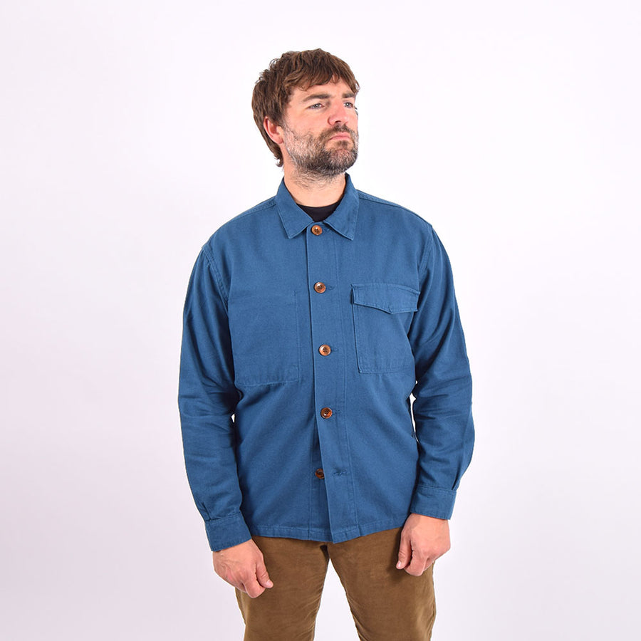 Uskees Blue Workshirt