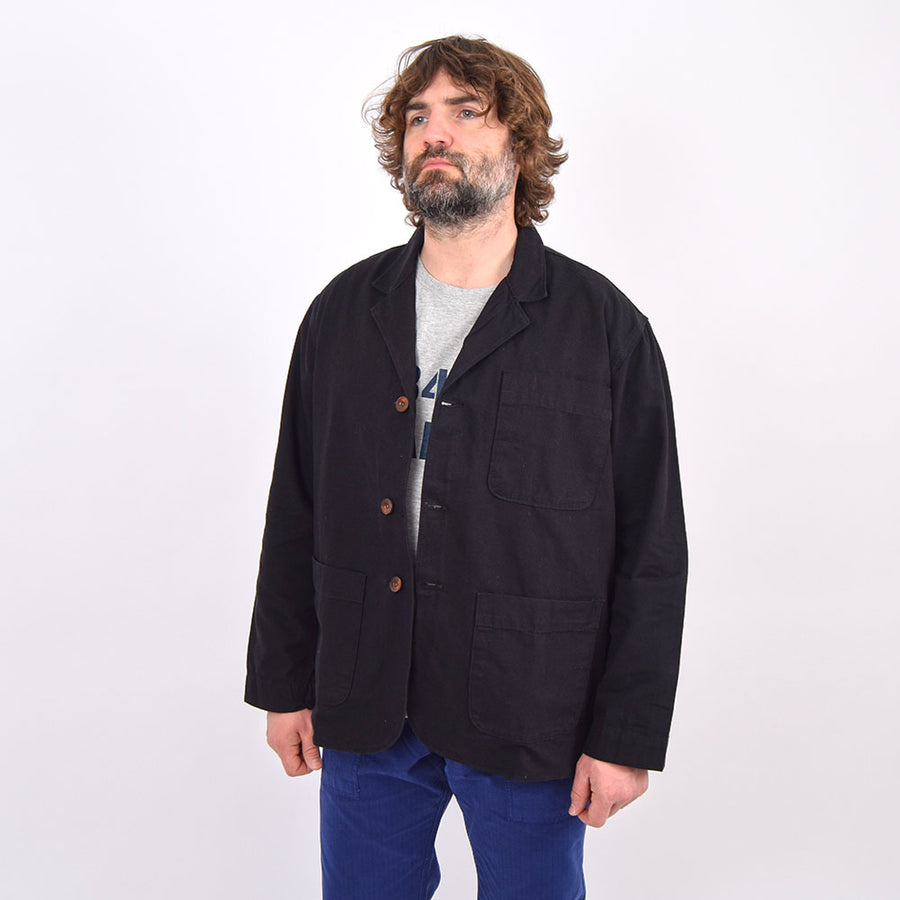 Uskees Black Unlined Blazer
