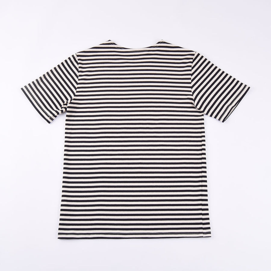 La Francaise Black & White Short Sleeve Breton
