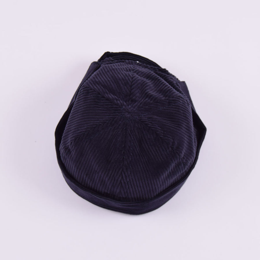 Yarmouth Oilskins Navy Corduroy Watchcap
