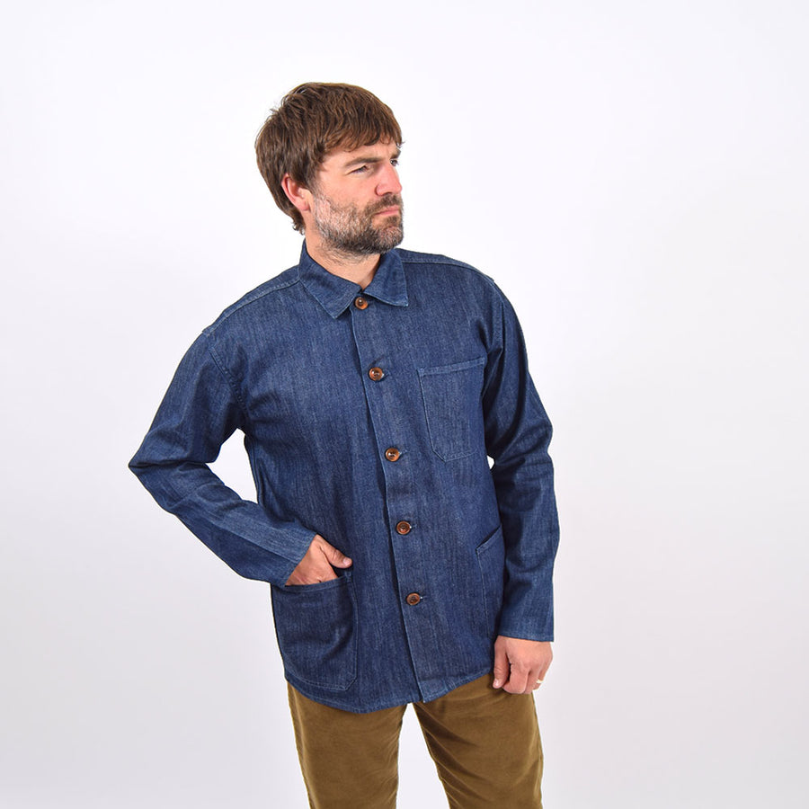 Uskees Rinsed Denim Overshirt