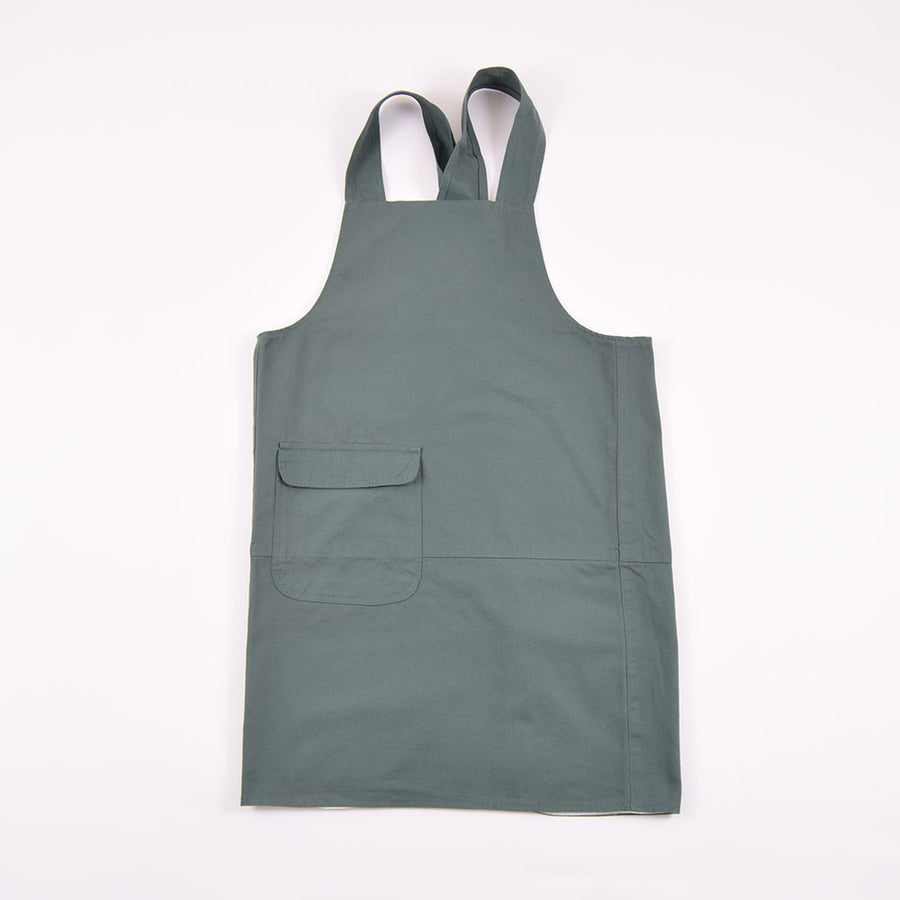 Uskees Green Cross back Apron